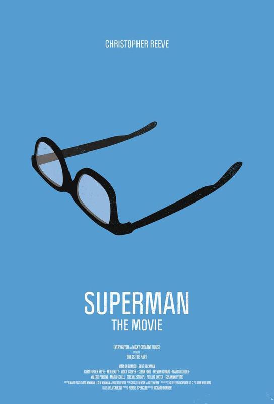 Superman Aluminium Print