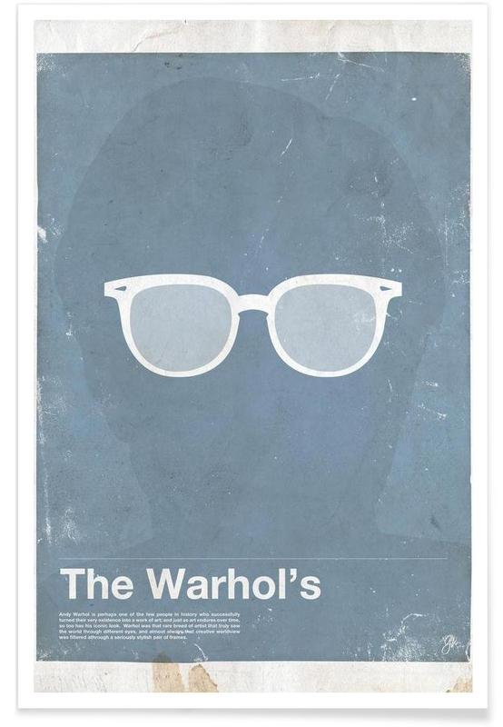 Andy Warhol-Brille -Poster