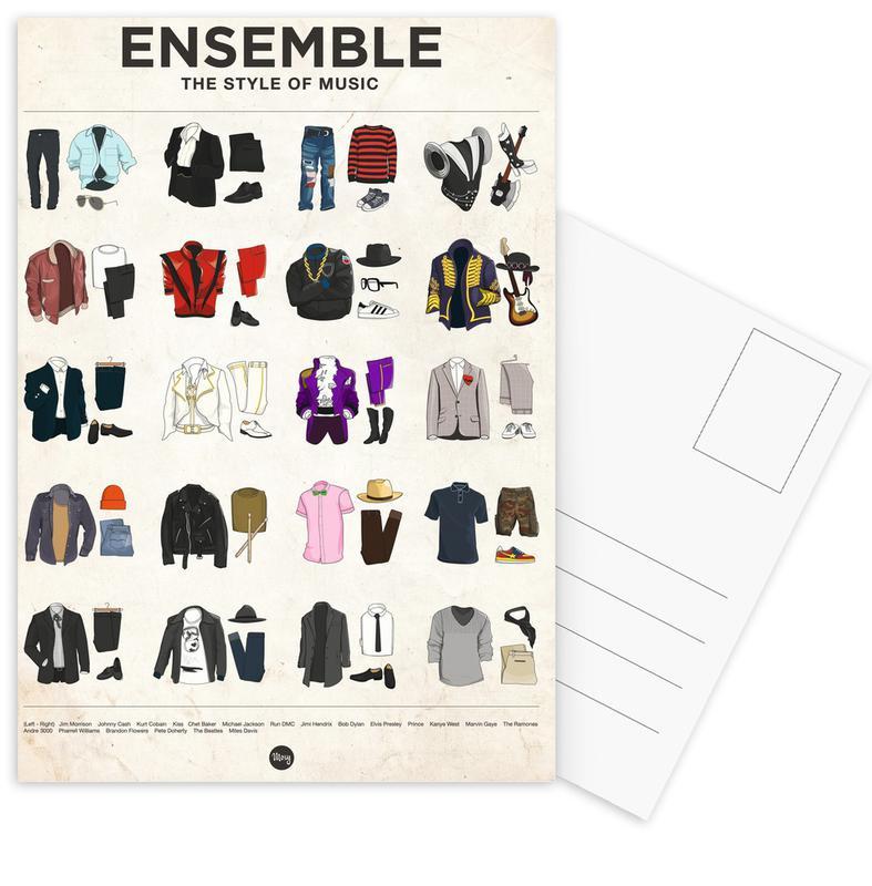 Ensemble Postcard Set