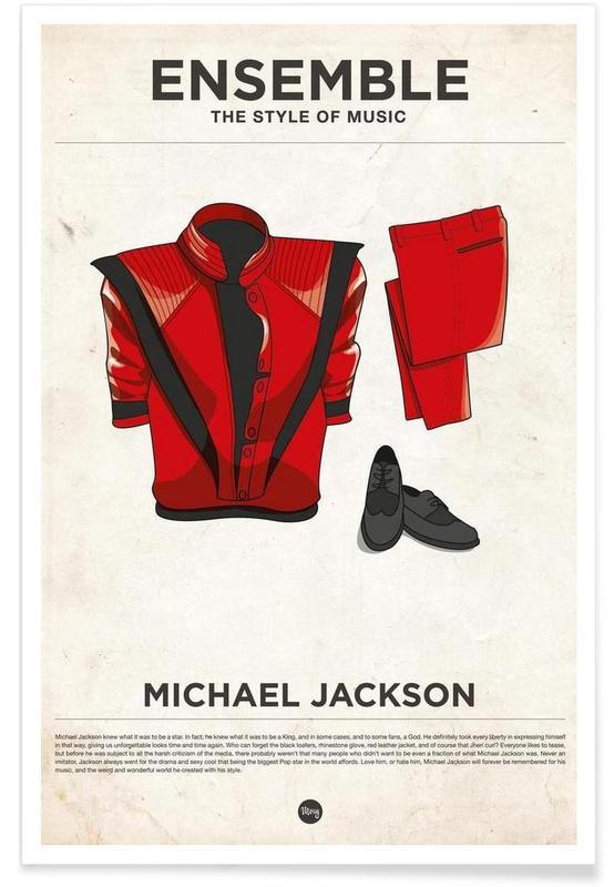 Style vestimentaire de Michael Jackson affiche