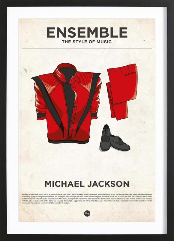 Ensemble Michael Jackson Framed Print