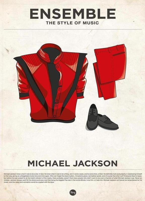 Ensemble Michael Jackson Canvas Print