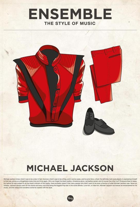 Ensemble Michael Jackson Acrylic Print
