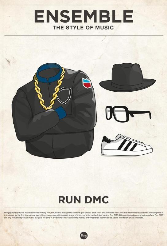 Ensemble Run DMC Aluminium Print