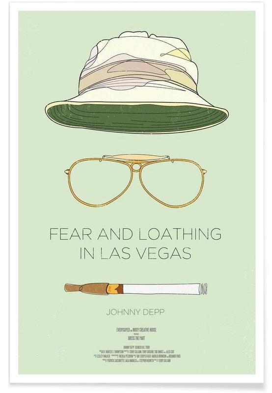 Las Vegas parano - Film affiche