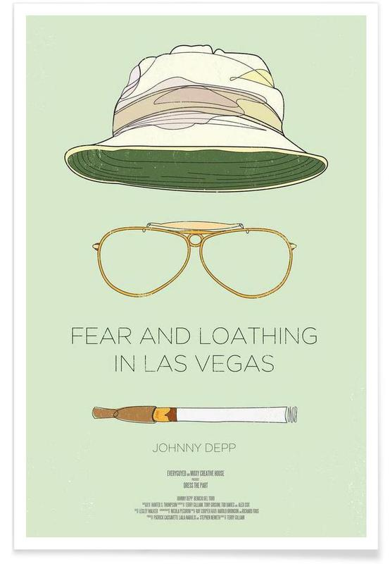 Fear and Loathing in Las Vegas-Film -Poster