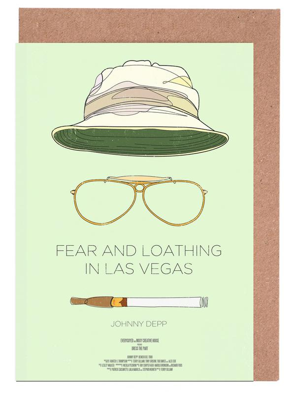 Fear and Loathing in Las Vegas Greeting Card Set