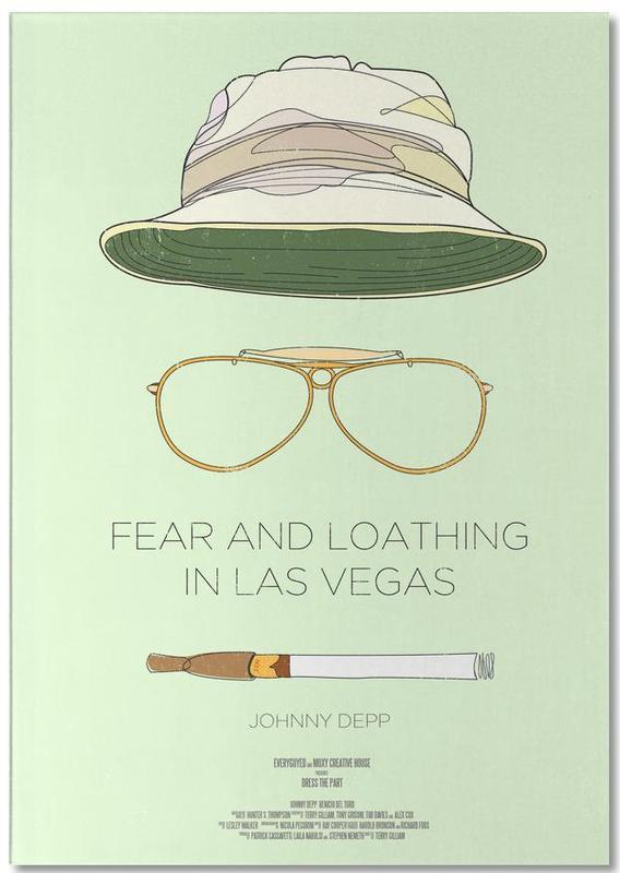 Films, Las Vegas, Fear and Loathing in Las Vegas bloc-notes