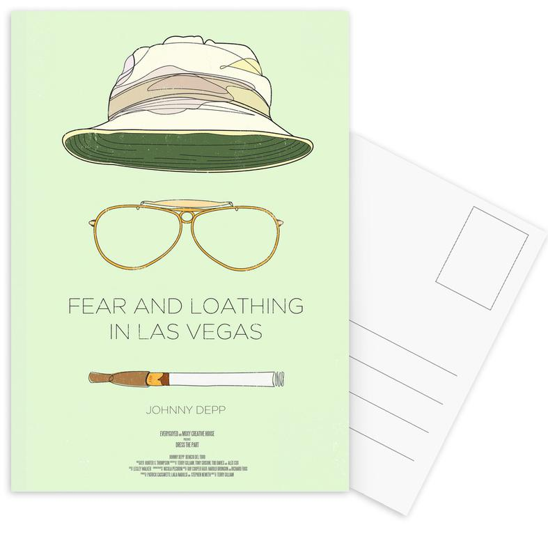Fear and Loathing in Las Vegas Postcard Set