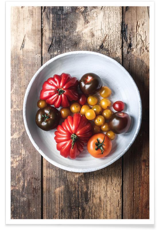 Tomater, Sommertomaten Plakat