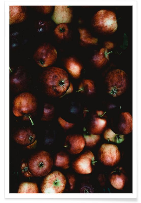 Pommes, Apfelkiste affiche
