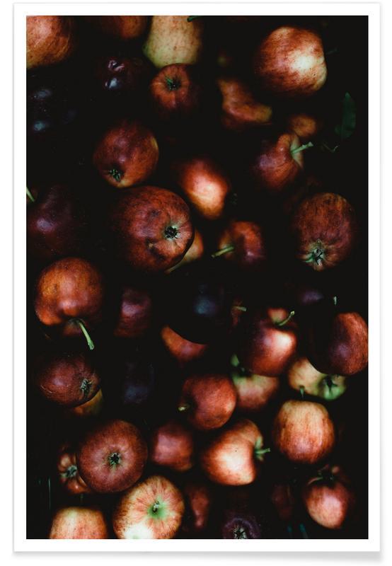 Apfelkiste Poster