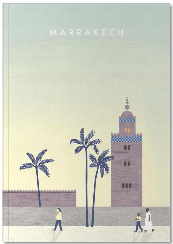 Reise, Vintage Reise, Marrakesch Notebook