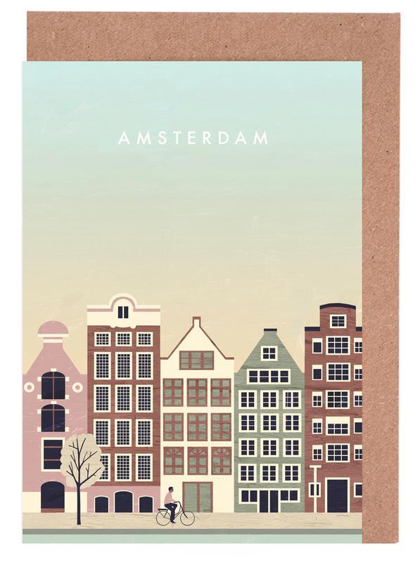 Amsterdam -Grußkarten-Set