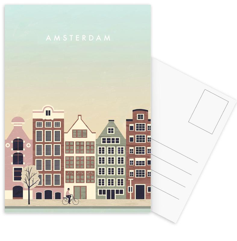 Amsterdam Postcard Set
