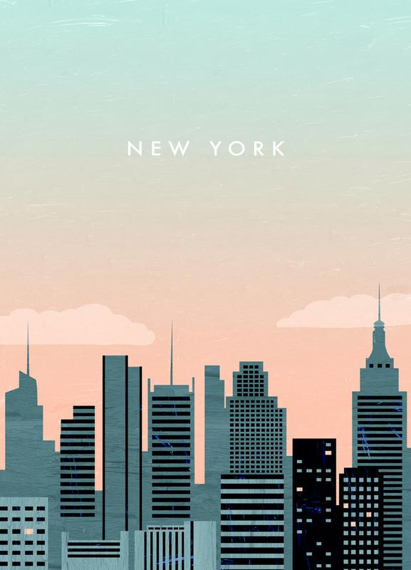 New York -Leinwandbild