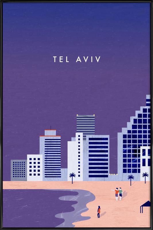 Tel Aviv Framed Poster
