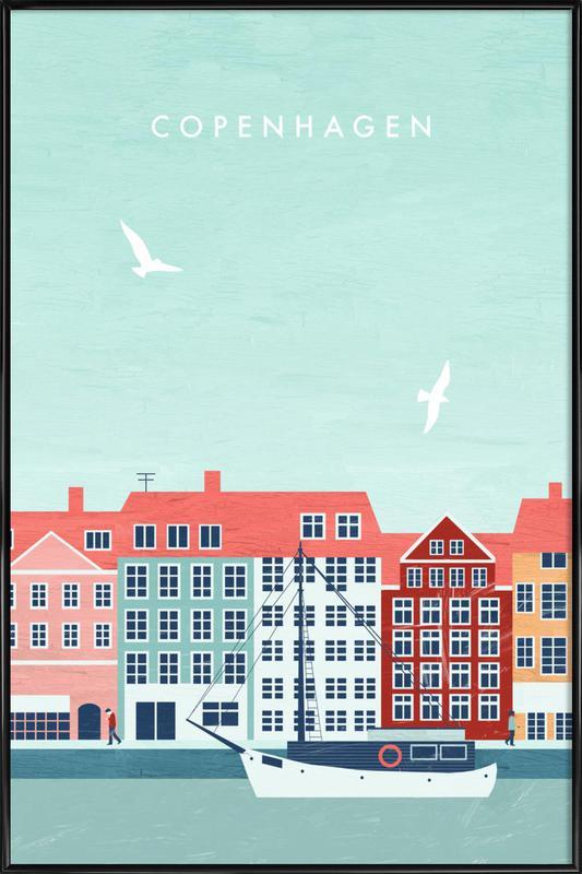 Kopenhagen Poster i standardram