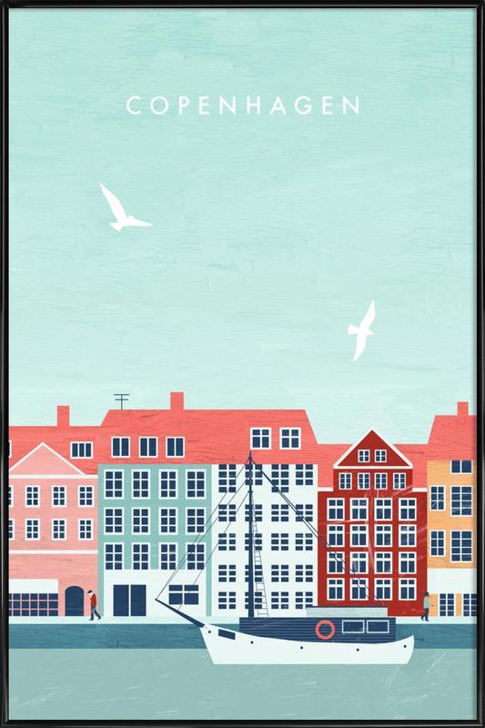 Kopenhagen Framed Poster
