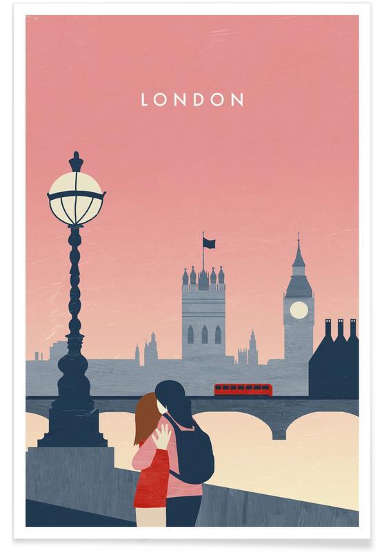 Retro-London -Poster