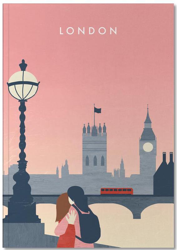 Travel, Vintage Travel, London Notebook