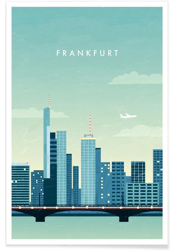 Retro-Frankfurt -Poster
