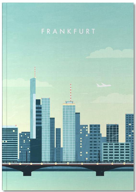 Reise, Vintage Reise, Frankfurt Notebook