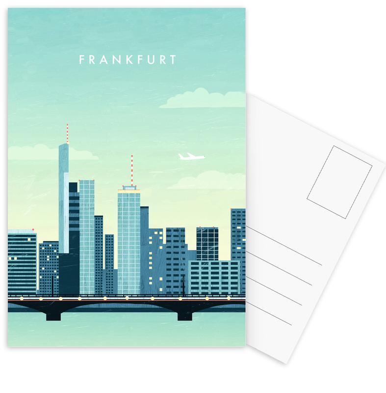 Reizen, Vintage reis, Frankfurt ansichtkaartenset