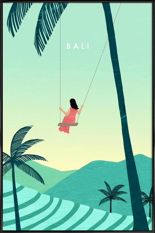Bali ingelijste poster