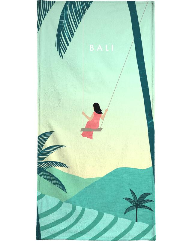 Reizen, Vintage reis, Bali strandlaken