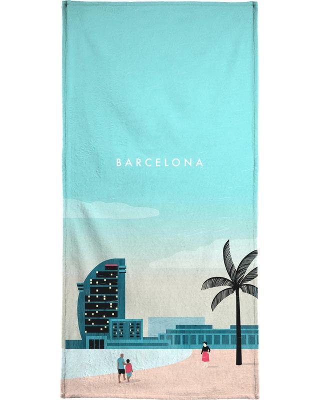 Barcelona -Strandtuch