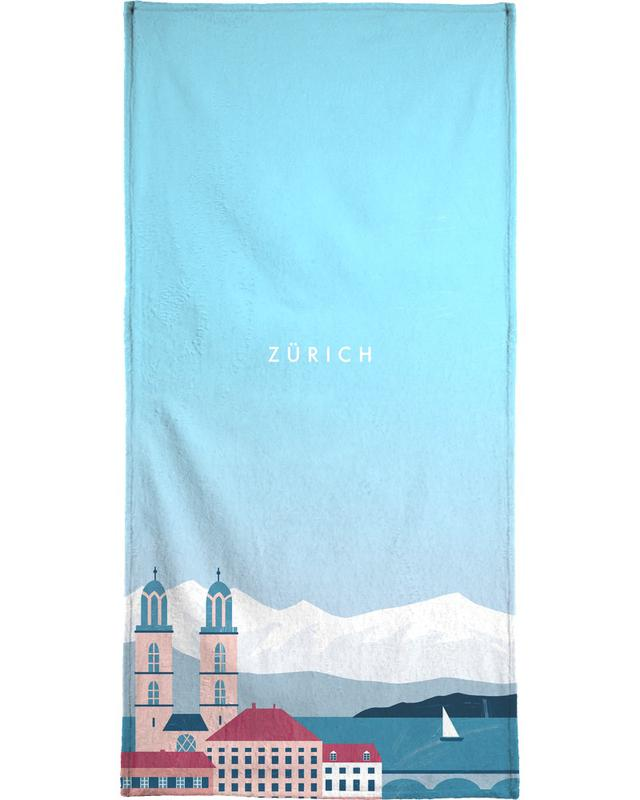 Zürich Beach Towel