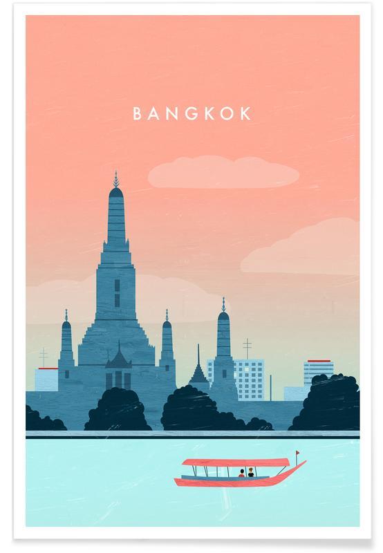 Retro Bangkok Poster