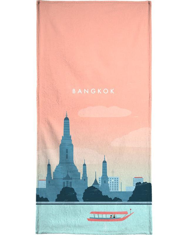 Reizen, Vintage reis, Bangkok strandlaken