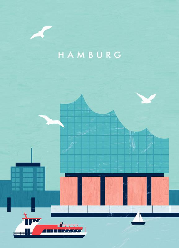 Hamburg Elbphilharmonie -Leinwandbild