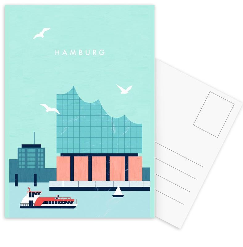 Hamburg Elbphilharmonie -Postkartenset
