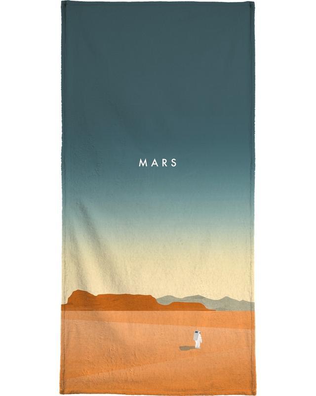 Vintage voyage, Mars serviette de plage