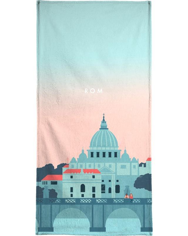 Voyages, Vintage voyage, Rome serviette de plage