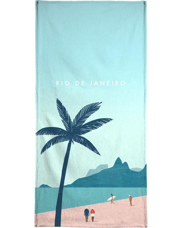 Reizen, Vintage reis, Rio De Janeiro strandlaken
