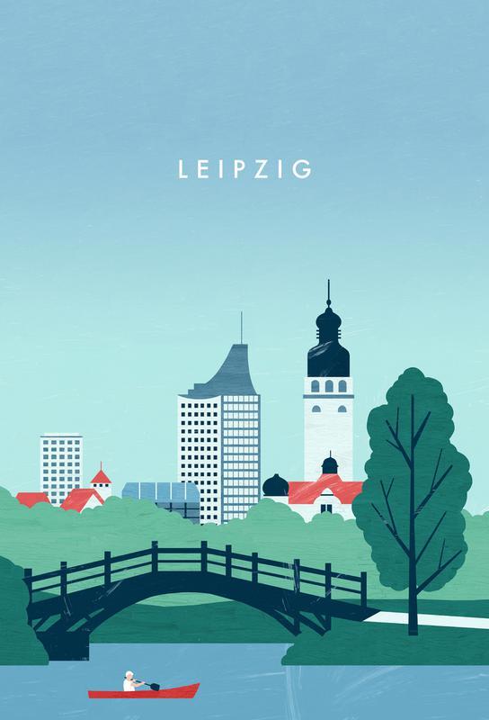Leipzig -Alubild
