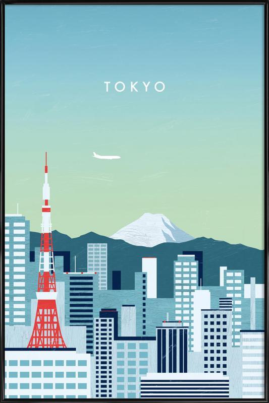Tokyo affiche encadrée