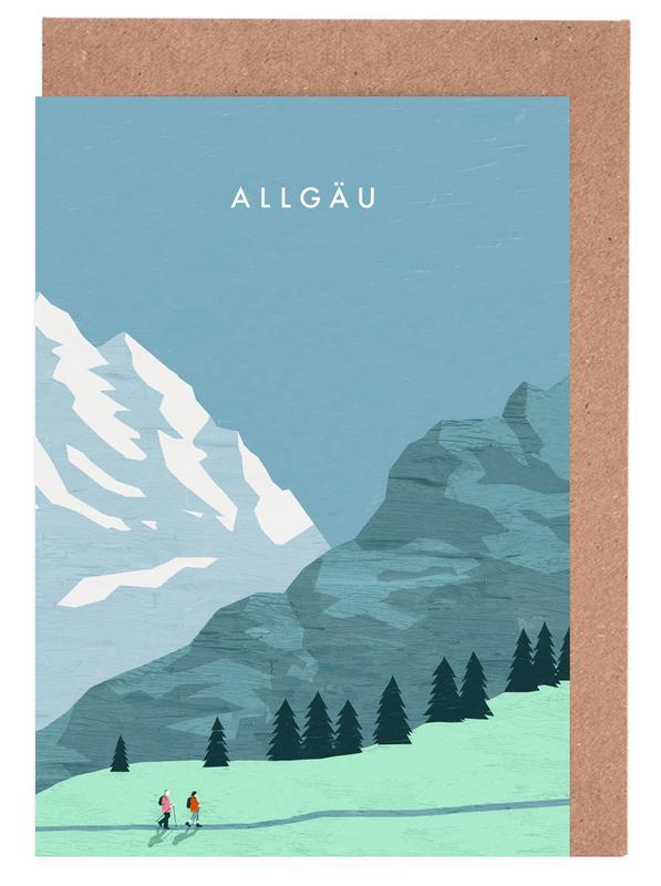 Allgäu Greeting Card Set