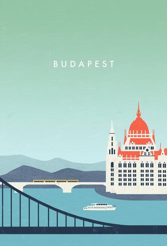 Budapest -Acrylglasbild
