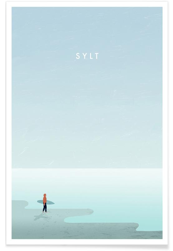 Retro Sylt Poster
