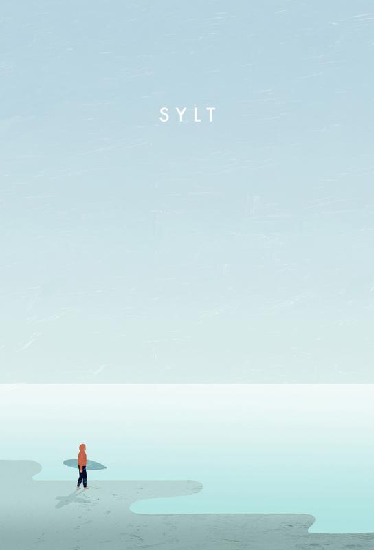 Sylt -Acrylglasbild