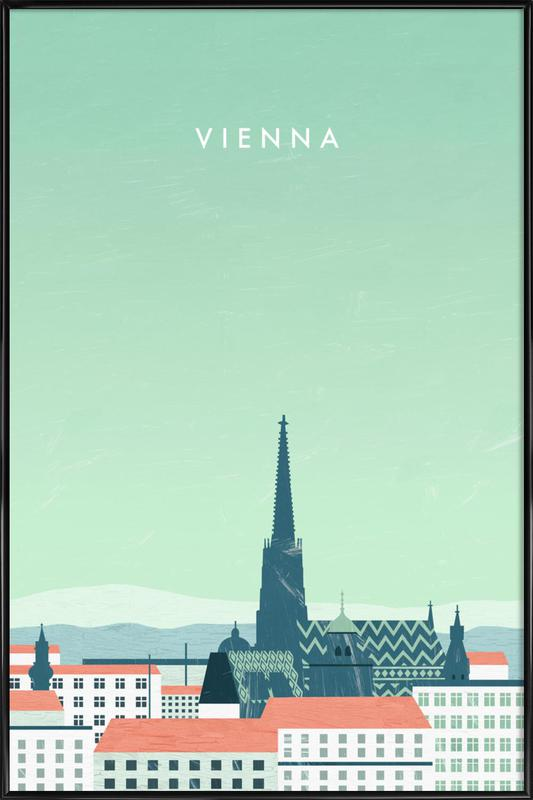 Wien -Bild mit Kunststoffrahmen