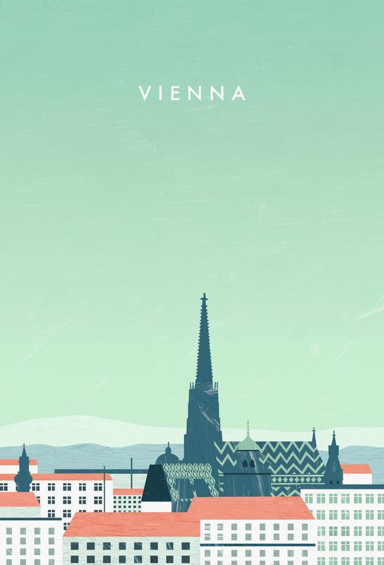 Wien -Acrylglasbild