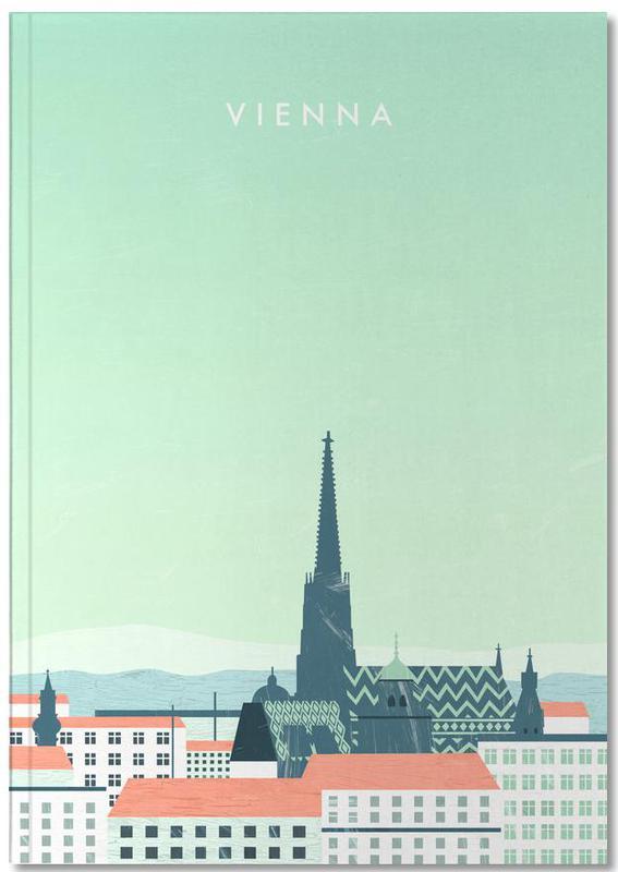 Reise, Vintage Reise, Wien Notebook