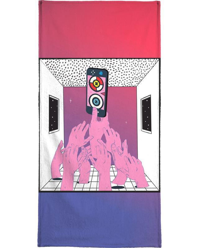 Pop Art, Let Me P(l)ay -Handtuch