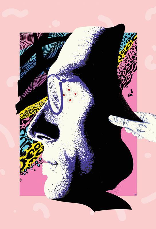 Cyborg Art Acrylic Print